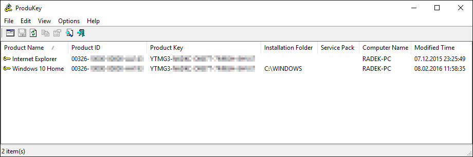 Nirsoft Product Key For Windows 10 Pro